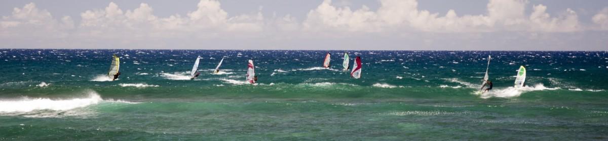 Виндсерфинг на острове Мауи